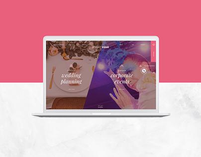 Atelier Rosé Website and Webshop design