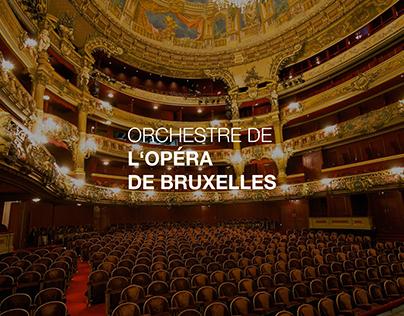 CORPORATE DESIGN - Orchestre De L'Opéra De Bruxelles