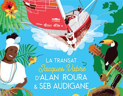 La Fabrique x Alan Roura - Transat Jacques Vabre