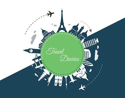 Travel Diaries | UI/UX Design | Web Application