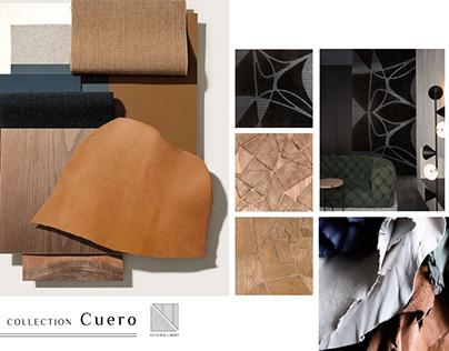 "Marqueterie Murale // Collection ""Cuero"""