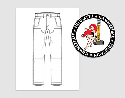 Fieldsmith Menswear Branding + Illustration