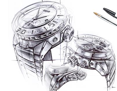 BIC Sketchbook - Watches