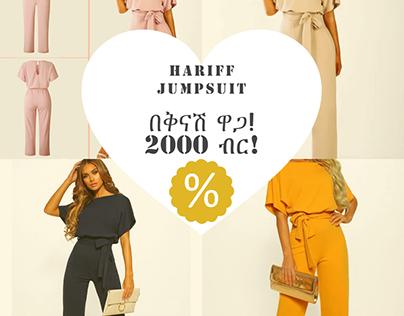 Hariff Jumpsuit