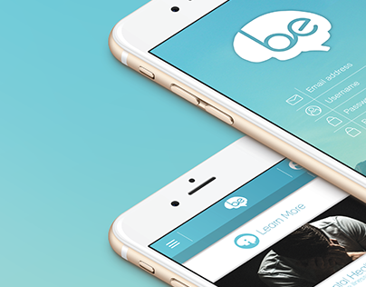 be - app and concept design
