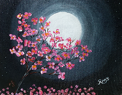 Evening Moon Flowers