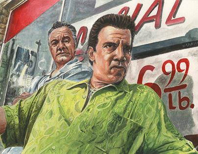 Paulie & Silvio - The Sopranos