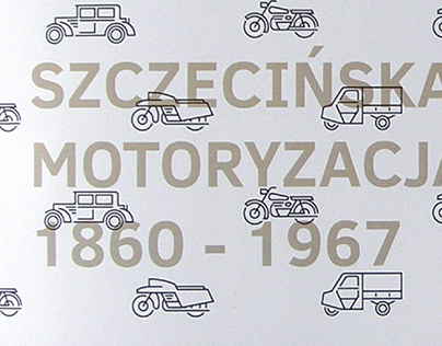 AUTOMOTIVE INDUSTRY IN SZCZECIN - ICON SET