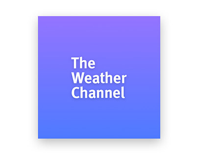The Weather Channel Mobile App Redesign