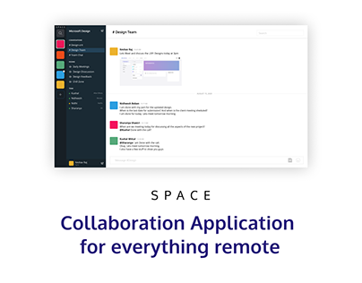 Collaboration application - For everything remote