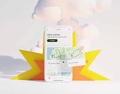 MISENDA - Propuesta UX/UI para senderistas