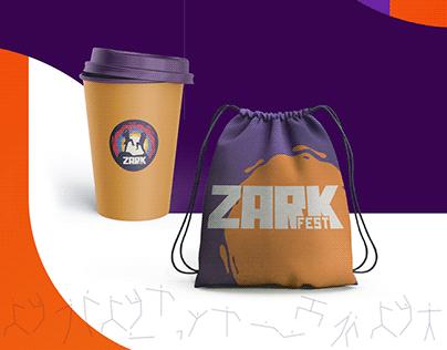 Zark Fest I Branding