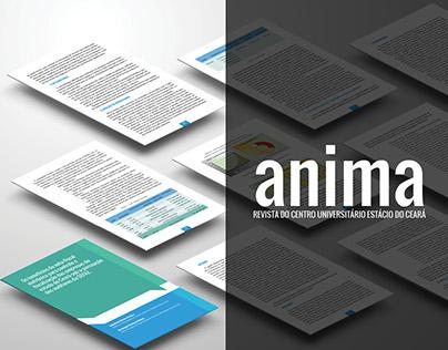 Revista Digital Anima | Redesign e Manual de Editoração