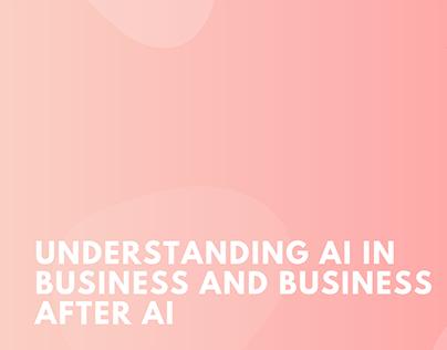 Alastair Majury | Understanding AI in Business