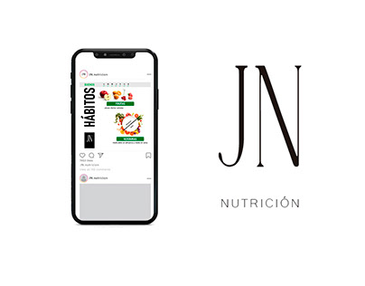 Diseño y comunicación para JN Nutrición