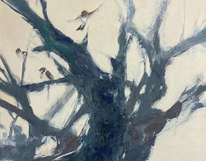 「木に」-in a tree-