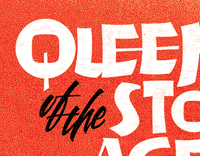 Queens of the Stone Age Lettering