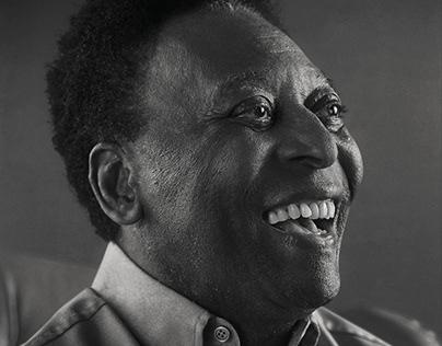Pelé Portrait