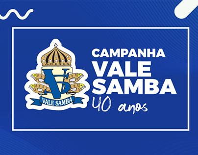 Campanha Vale Samba 40 anos