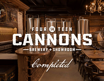 14 Cannons Brewery - Completed