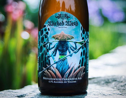 Brettanomyces Series for Wicked Weed Brewing