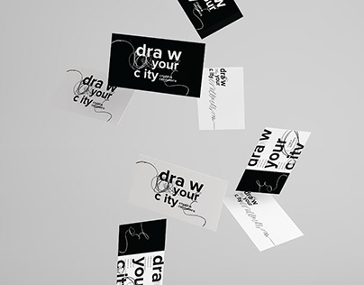 sketching studio DRAW YOUR CITY / brand identity