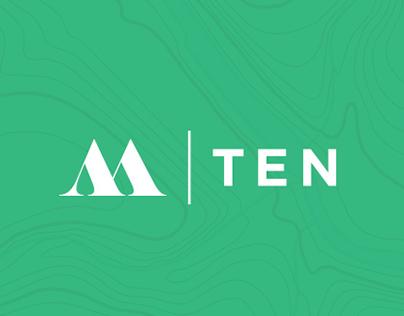 M | Ten Adventure & Road Trip App Site and Branding