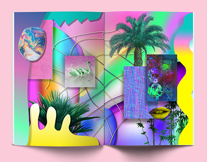Reality vs. Virtual Reality Zine