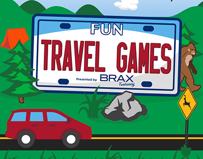 Fun Travel Games Infographic