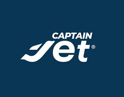 Captain Jet Logo Tasarımı