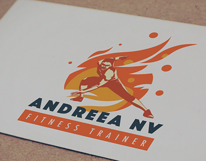 Logo for personal fitness trainer