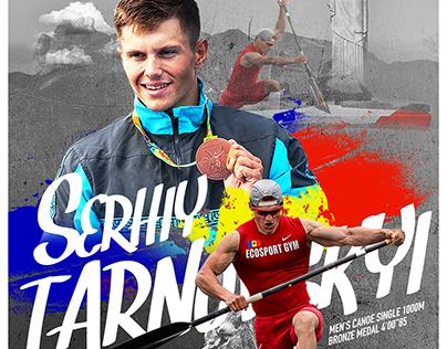 Serhiy Tarnovskyi —Olympic bronze Champion
