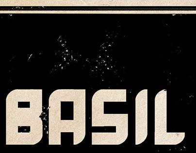 Basil, The Modular TypeFace