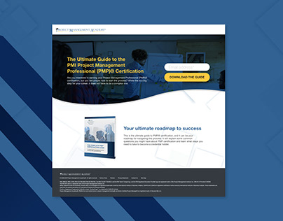 Landing Page & Email Refresh | PMA