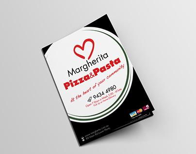 Margharita Pizza and Pasta