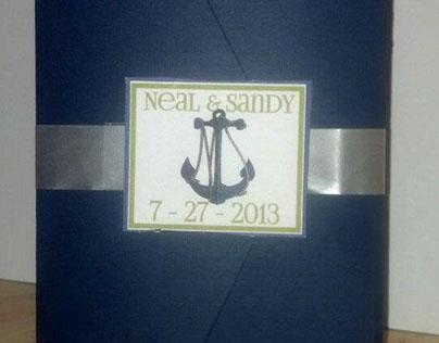 Wedding Invitation: Sandy Jolicoeur & Neal Carter