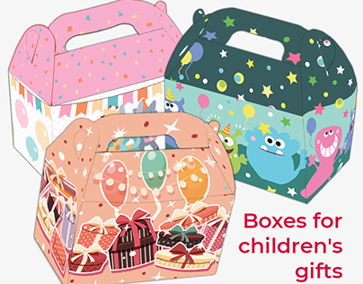 Boxes for children's gifts