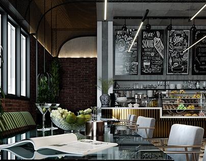 Restaurant by Ginko Visuals