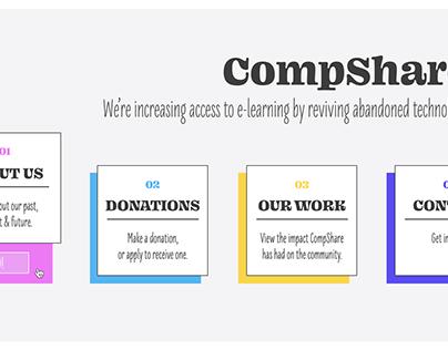 CompShare - UI Design