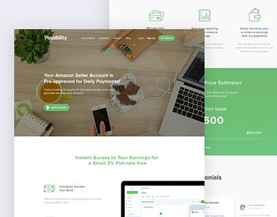 Payment Landing Pages