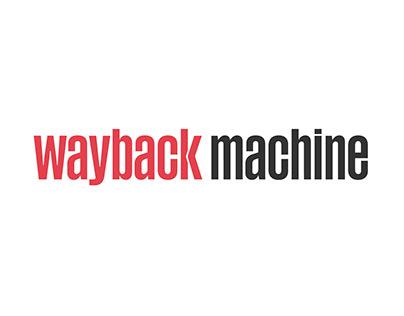 Wayback Machine Rebranding