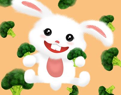 Vegetable & Bunny