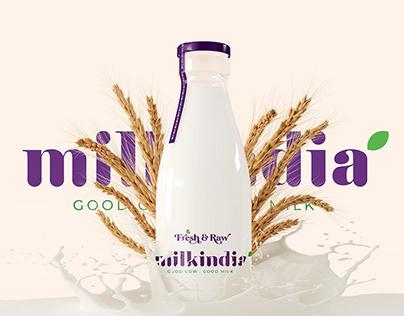 Milk India Branding & Packaging