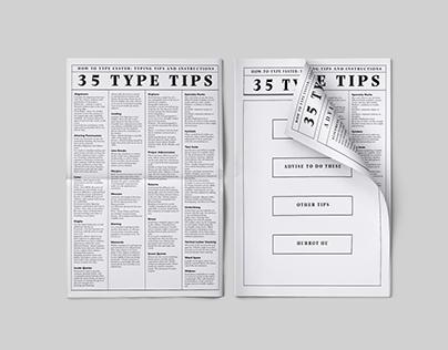 35 Type Tips