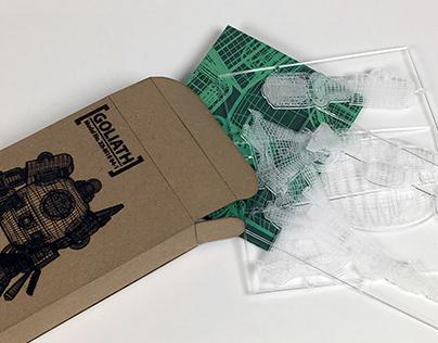 Goliath V.2.0: Toy + Packaging (2017)