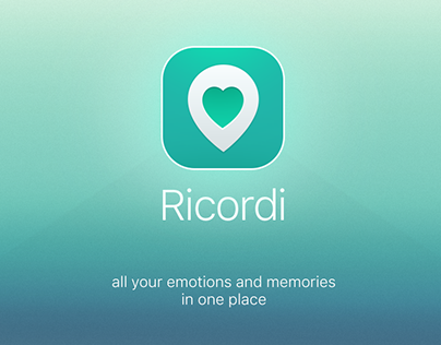 Ricordi. Save all your trips in one app.