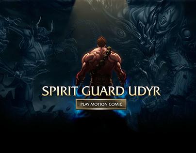 Spirit Guard Udyr :: Motion Comic