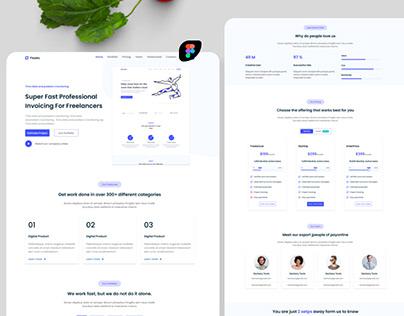 Freelancer Landing Page