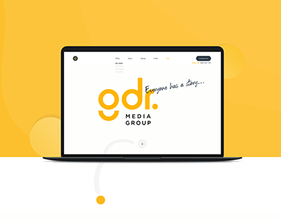 GDR Media Group - Web Project