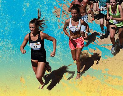 Big Beach Challenge event branding